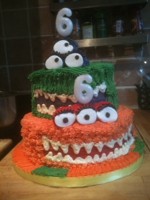 Their most excellent cake from my talented friend Anthea Scott. Please contact me for orders.