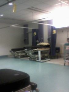 The miserable ward I manage to escape from!