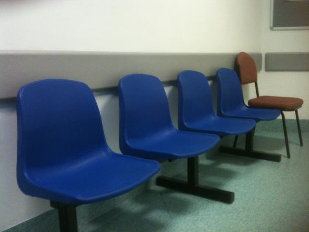The most depressing waiting room I never want to see again.