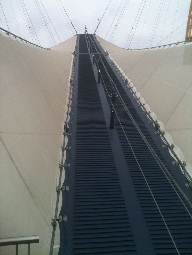 The ascent!