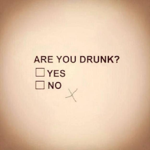Should be an obligatory test in between rounds to see whether you have had enough to drink!